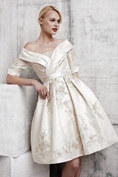 Wedding dress inspiration, BenjaminRoberts 2013, via Aphrodite's Wedding Blog