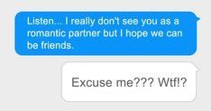 After First Date Girl Asks Guy If They Could Just Be Friends, Guy's Response Takes Her By Surprise   Bored Panda