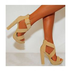Koi Couture Ladies Vk5 Nude High Heels £27.99 (FREE UK Delivery) Item in Stock | Usually dispatched within 24 hours