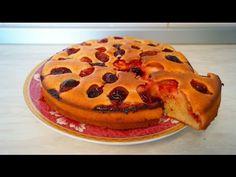 Пирог со сливой на кефире.Пирог. - YouTube