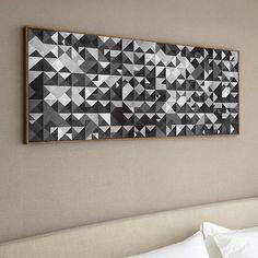 ". ""Geometric Black Panoramic"" above your bed  . #urbanarts #society6 #decor #decoration #decoração #art #interiordesign #design #architecture #black #usa #ireland #chile #europe #brasil #uk #england #unitedkingdom #london #italy #mexico #argentina #france #turkey #norway #deutschland #spain by franciscovalle_art"