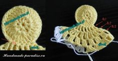 How to crochet chicken - Handmade-Paradise Easter Projects, Easter Crafts, Holiday Crochet Patterns, Bolero Pattern, Crochet Chicken, Crochet Christmas Ornaments, Crochet Accessories, Doilies, Diy And Crafts
