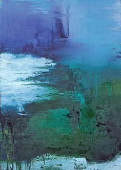 """Saatchi Art Artist Johann Nußbächer; Painting, """"silence waters 11"""" #art"""