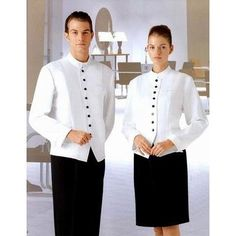 fine dining restaurant uniform look - Google Search