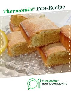 Recipe Lemon & Coconut Brownies by Donna O'Sullivan, learn to make this recipe easily in your kitchen machine and discover other Thermomix recipes in Desserts & sweets. Sweets Recipes, Recipes Dinner, Desserts, Coconut Brownies, Lemon Coconut, Recipe Community, Bellini, How Sweet Eats, Thermomix