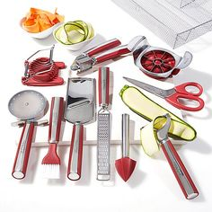 Love this set! Take your home cooking to the next level with sophisticated presentation! Using the Wolfgang Puck 11-Piece Complete Kitchen Tool Kit you can peel, zest, brush and slice your way to a beautiful meal!