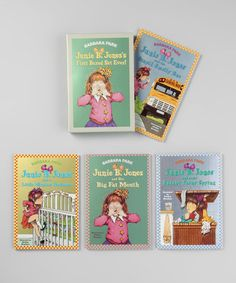 Take a look at this Junie B. Jones Boxed Paperback Set by Blow-Out on @zulily today!  Shhh!  For her bday!