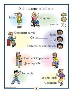 Image result for French poem Bonjour lundi, comment va mardi