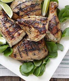 Ranch Country Marinade Grilled Chicken - Gather 'round the grill this summer with new recipes from Tyson® Frozen Chicken Thighs and Hidden Valley® Ranch.