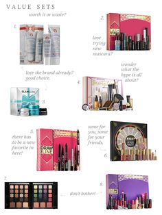 Beauty Gift Sets: Waste or Worth it?