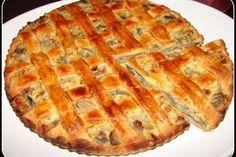 Placinta cu ciuperci Romanian Food, Apple Pie, Appetizers, Gluten Free, Cooking Recipes, Vegan, Sweet, Desserts, Pie