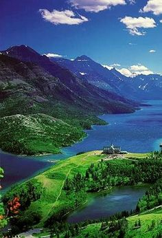 Parque Nacional Lagos Waterton, Canadá