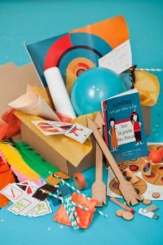 Kimbox, des boîtes ludiques et culturelles pour organiser l'anniversaire des enfants
