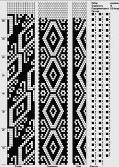 ✜ Жгуты из бисера ✜ Вязание с бисером ✜ Схемы   VK