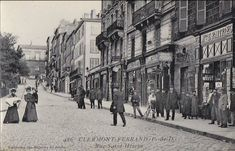 Clermont Ferrand, Street View, D Day