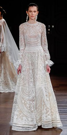 The Prettiest Spring 2017 Wedding Dresses from Bridal Fashion Week - Naeem Khan  - from InStyle.com