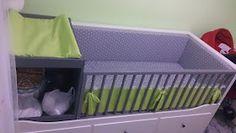 La Frikifactoría: [Tutorial] Ikea Hack cama diván Hemnes a cuna