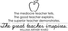Great teacher quote