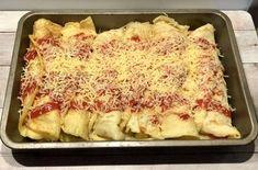 Naleśniki zapiekane z kurczakiem i warzywami - Blog z apetytem Polish Recipes, Aga, Lasagna, Poultry, Macaroni And Cheese, Food To Make, Good Food, Appetizers, Nutrition