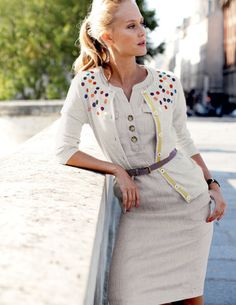 ok, i admit it...i'm obsessed with cardigans! especially ones with fun embellishments.