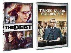 Win a Copy of Tinker Tailor Soldier Spy and The Debt on DVD