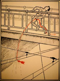 Have you ever counted the ways to achieve death or extreme shock from electricity? Well, here's some pretty strange diagrams of 30 ways to die by electrocut Vintage Advertisements, Vintage Ads, Vintage Posters, Vintage Stuff, Vintage Books, Illustrations Vintage, Safety Posters, Book Show, The Book