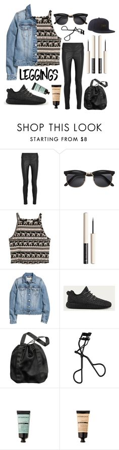 """""""leggings for staples"""" by rachelpatricia ❤ liked on Polyvore featuring Tom Ford, H&M, adidas, Leggings and WardrobeStaples"""