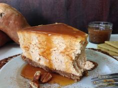 My Sweet Precision Sweet Potato Cheesecake, Cheesecake Recipes, Dessert Recipes, Dessert Ideas, Delicious Desserts, Yummy Food, Healthy Food, Bbq Baked Beans, Traditional Thanksgiving Dinner