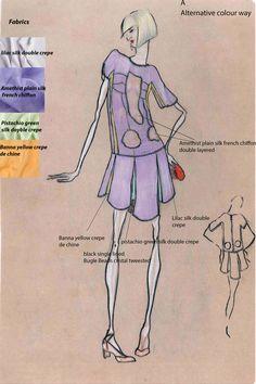 Alternative colour way design submission Liberty Fashion, Fashion Competition, Pistachio Green, Bugle Beads, Green Silk, Submission, Lilac, Alternative, Colour