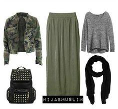 Source by hijabi outfits Casual Hijab Outfit, Hijab Chic, Casual Fall Outfits, Modest Outfits, Simple Outfits, Outfits For Teens, Modesty Fashion, Muslim Fashion, Hijab Fashion