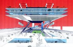 Rem Koolhaas, Saitama Arena, Tokyo. 1994