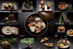 Dinner at Yagyunosho Ryokan in Shuzenji, Japan