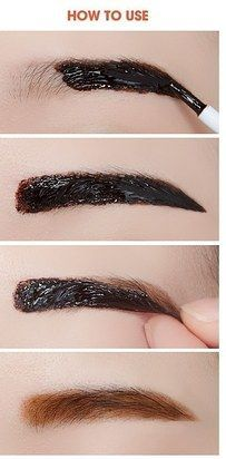 Etude House Tint My Brows Gel is a peel-off eyebrow tint that gives you natural-looking brows that last for a long time.   18 Korean Beauty Products That Actually Work