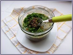 Lecker mit Geri: Linsensuppe mit Sahne und Spinat - Супа от леща със сметана и…