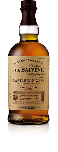 The Balvenie - Caribbean Cask - Aged 14 Years- it's smoother than the 15 and 17 u r
