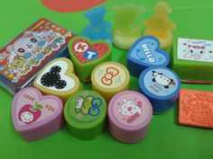 Cute rubber stamp