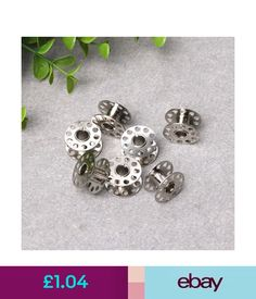 Sewing Machines 10 Pcs Nrw Metal Singer Sewing Machine Bobbin Home Domestic Household Bother #ebay #Home & Garden