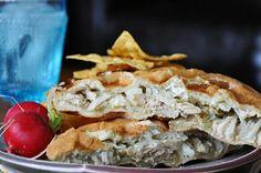 Chile Verde Chicken Torta by holajalapeno, via Flickr