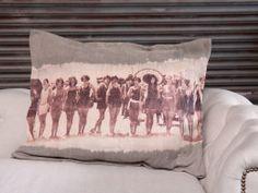 Lumi › Bleach and Print Pillows