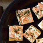 Smoked Salmon Canapés Recipe | MyRecipes.com