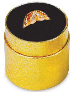 Mini Ring Boxes x TSI Supplies :: Quality Retail Store Supplies Jewelry Store Displays, Jewelry Stores, Store Supply, Ring Boxes, Gold Texture, Black Velvet, Black Gold, Boxer, Mini