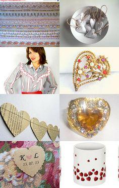You've gotta have heart #vintage #jewelry #VogueTEam
