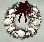 seashell christmas wreath - Bing Images