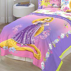 Rapunzel Comforter Set Twin Full Bedding Disney