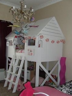 DIY Furniture : DIY beach hut bed