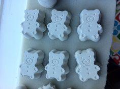 Deurknopjes groot Teddybeer van beton! €2,50