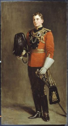 Second Lieutenant Edward Younger, 16th Queen's Own Lancers, 1901 (c)