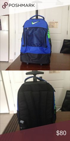 Nike backpack and roll on Brand new a combination of backpack and airplane  carry on with wheels Nike Bags Backpacks 61b11c0652449