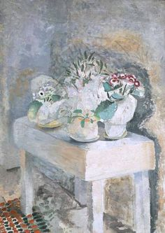 Winifred Nicholson    Flower Table    1928-09