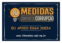 Palestra - 10 Medidas Contra a Corrupção MPF